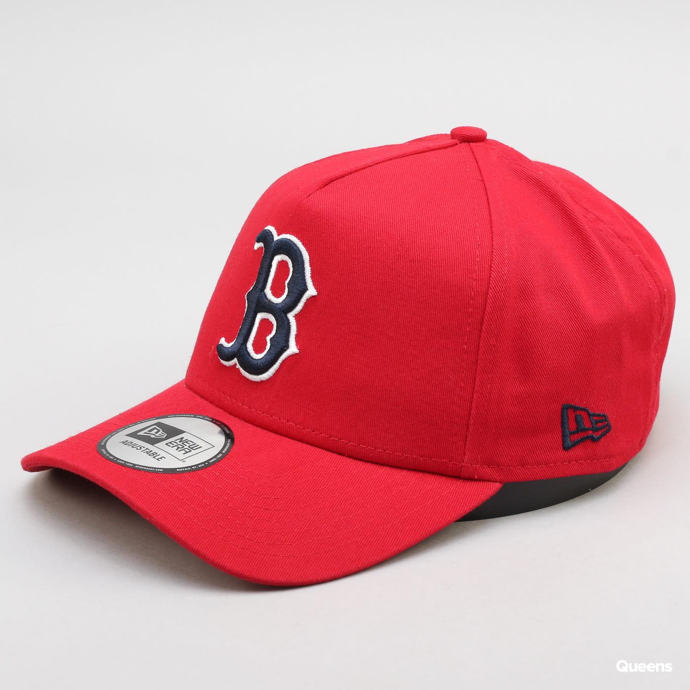New Era 940 Washed Aframe Boston Red Sox červená