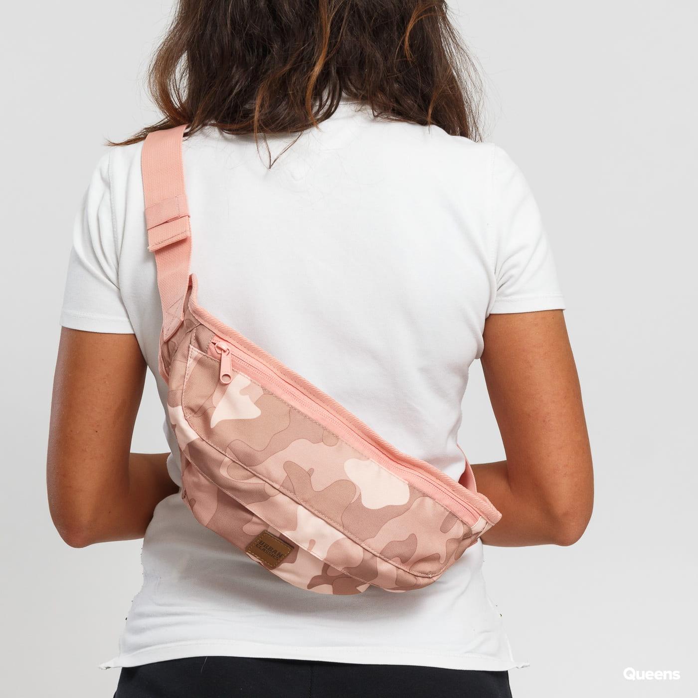 Urban Classics Camo Shoulder Bag camo ružová