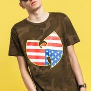 WU WEAR American Camo Tee camo zelené