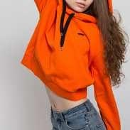 Vans WM Boulder Pullover oranžová