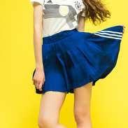 adidas FSH L Skirt tmavě modrá