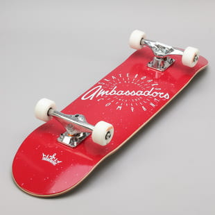 Ambassadors Komplet Skateboard Spin Red