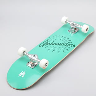 Ambassadors Komplet Skateboard Spin Tyrquoise Shadow