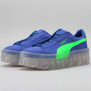 best authentic 42330 d19af Puma Fenty by Rihanna Cleated Creeper Surf W dazzling blue - green gecko