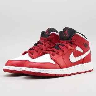 632be59a035 Air Jordan 1 Mid BG gym red   white - black
