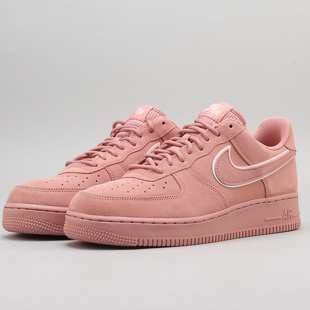 4d6501b704aaa Sneakers Nike Air Force 1 '07 LV8 Suede red stardust / red stardust ...
