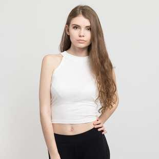 Urban Classics Ladies Rib Turtleneck Cropped Top