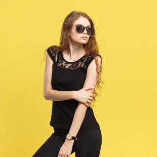 Urban Classics Ladies Top Laces Tee