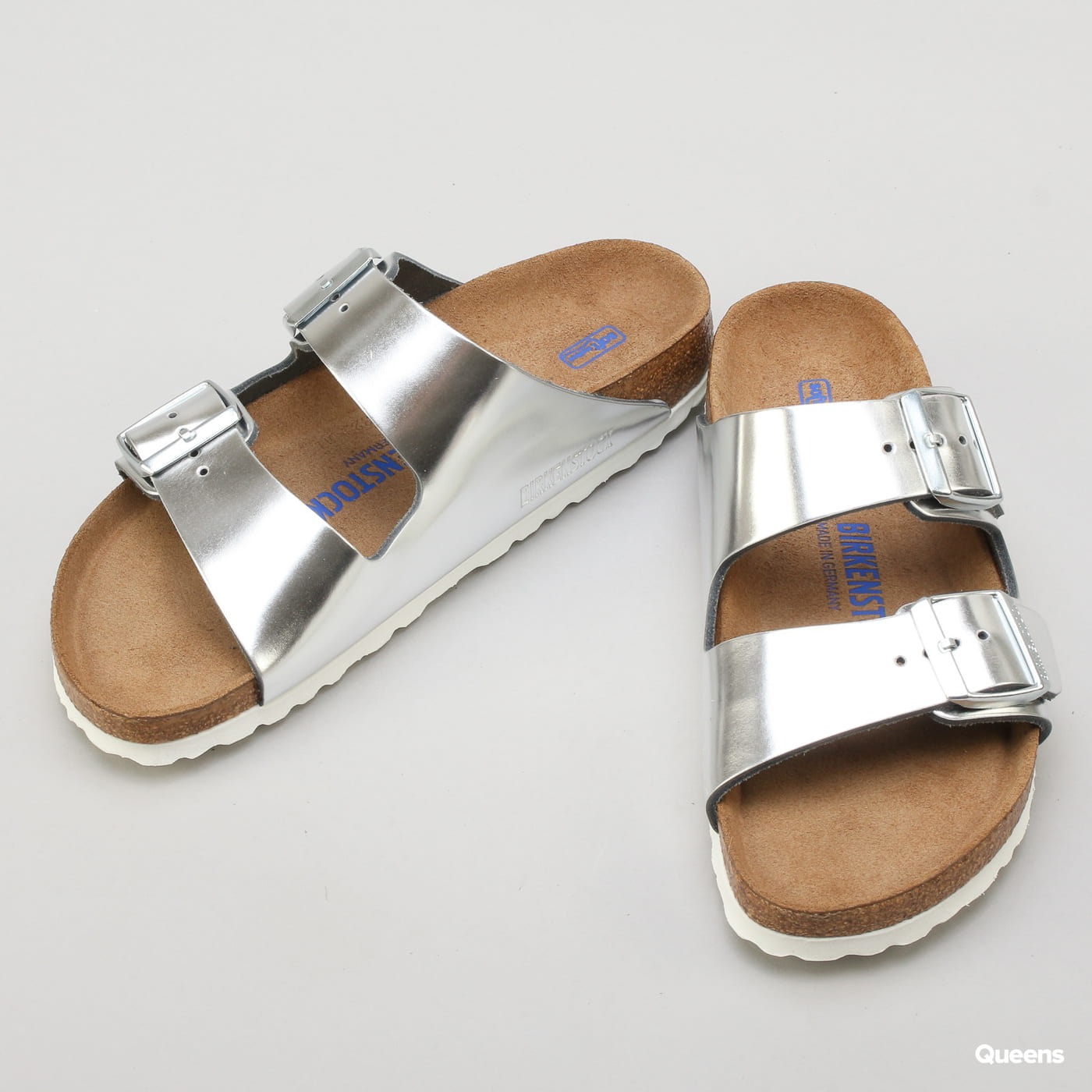 BIRKENSTOCK Arizona BS silver