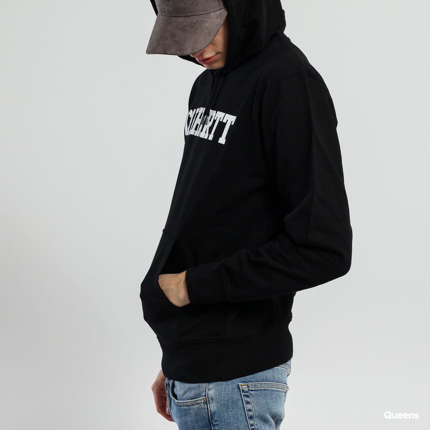Carhartt WIP Hooded College Sweat schwarz