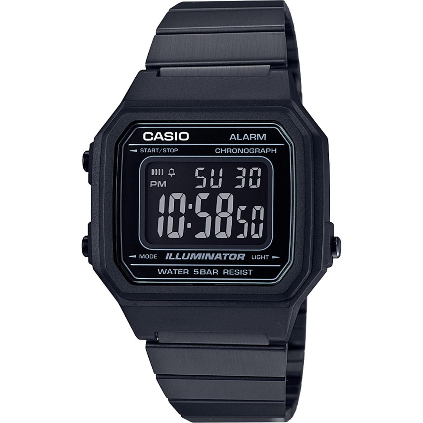 Casio B650WB-1BEF čierne