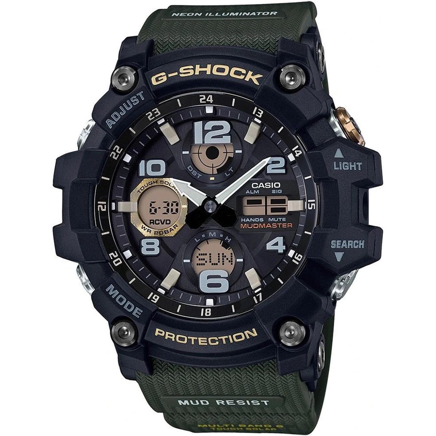 Casio G-Shock GWG 100-1A3ER black / olive
