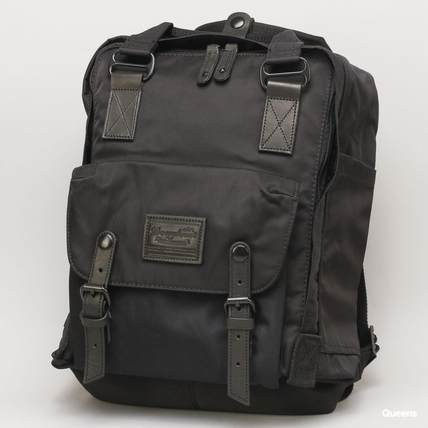 Doughnut Macaroon Backpack schwarz