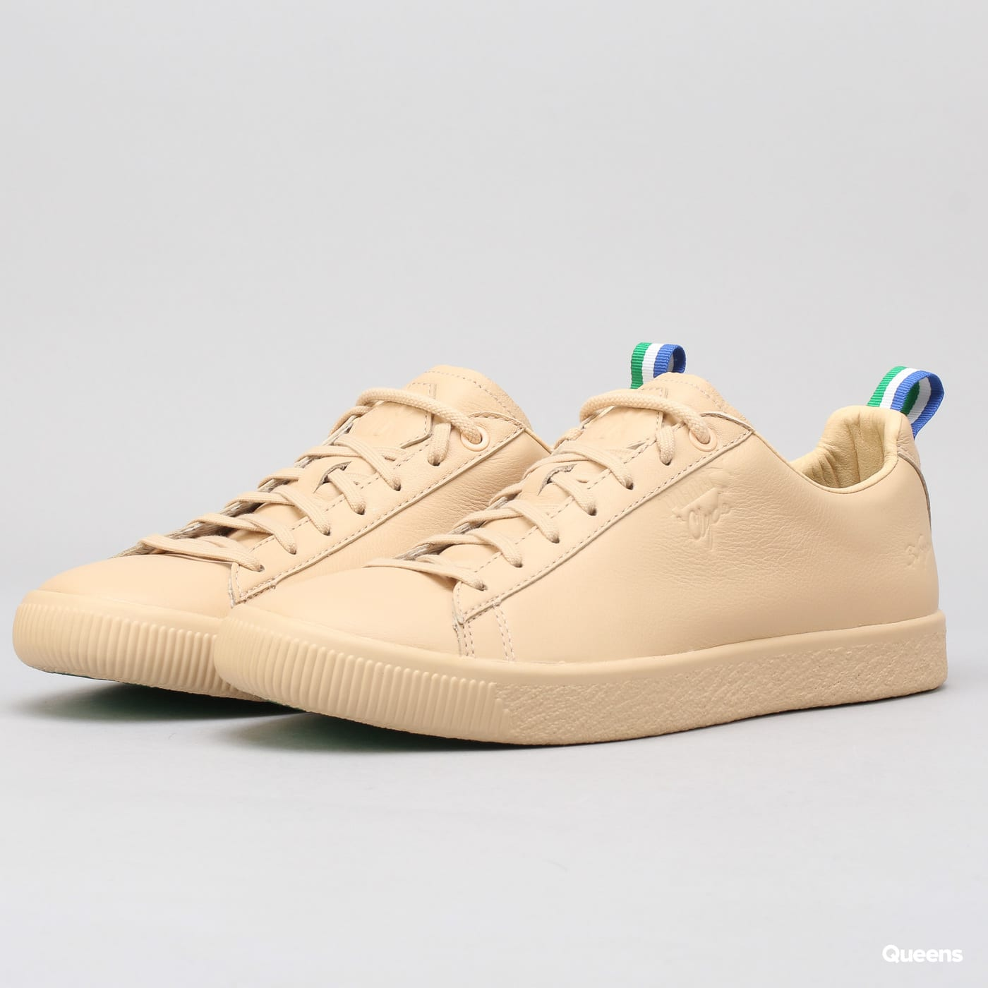 hot sale online ea04b f17f2 Puma Clyde Big Sean natural vachetta