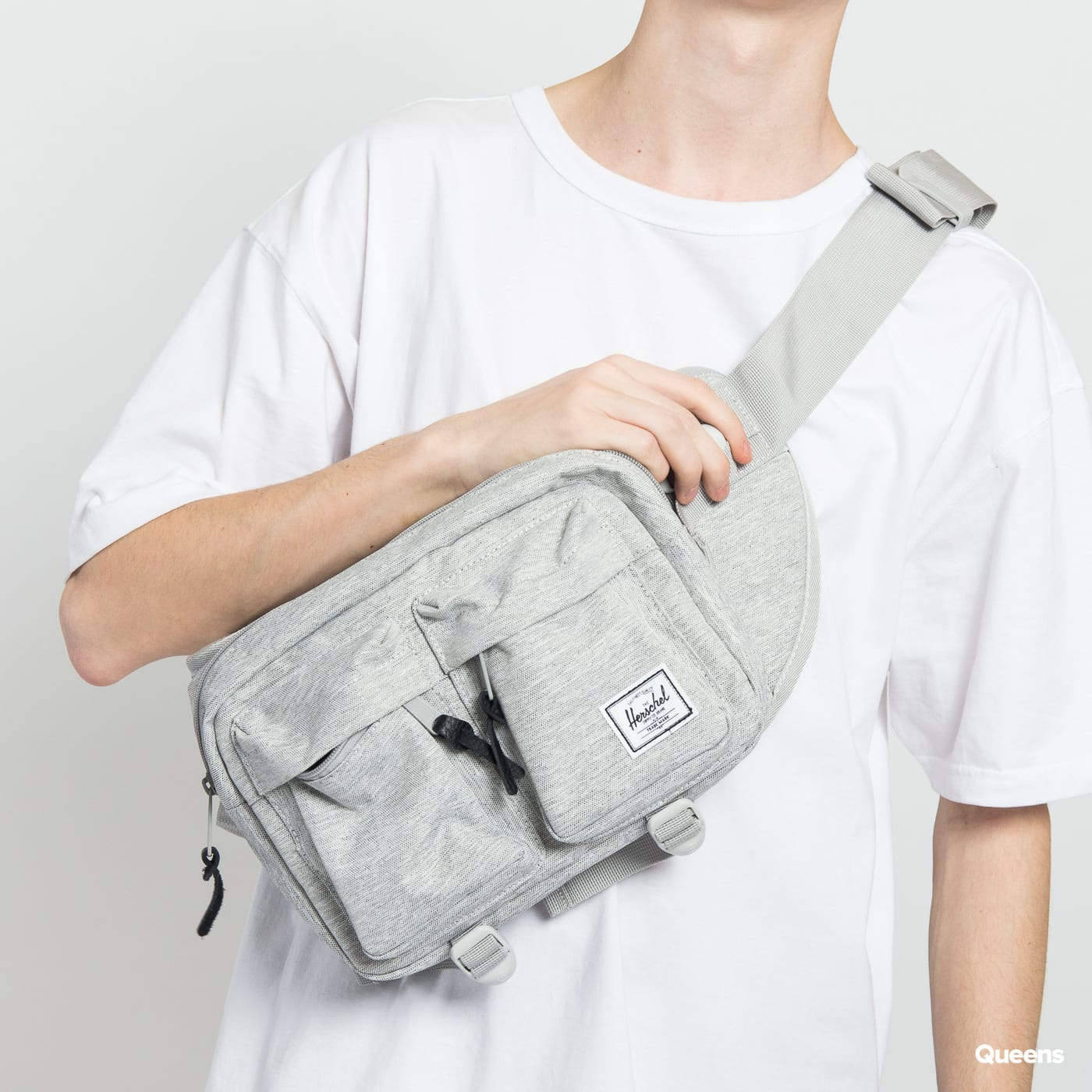 The Herschel Supply CO. Eighteen Hip Pack melange gray