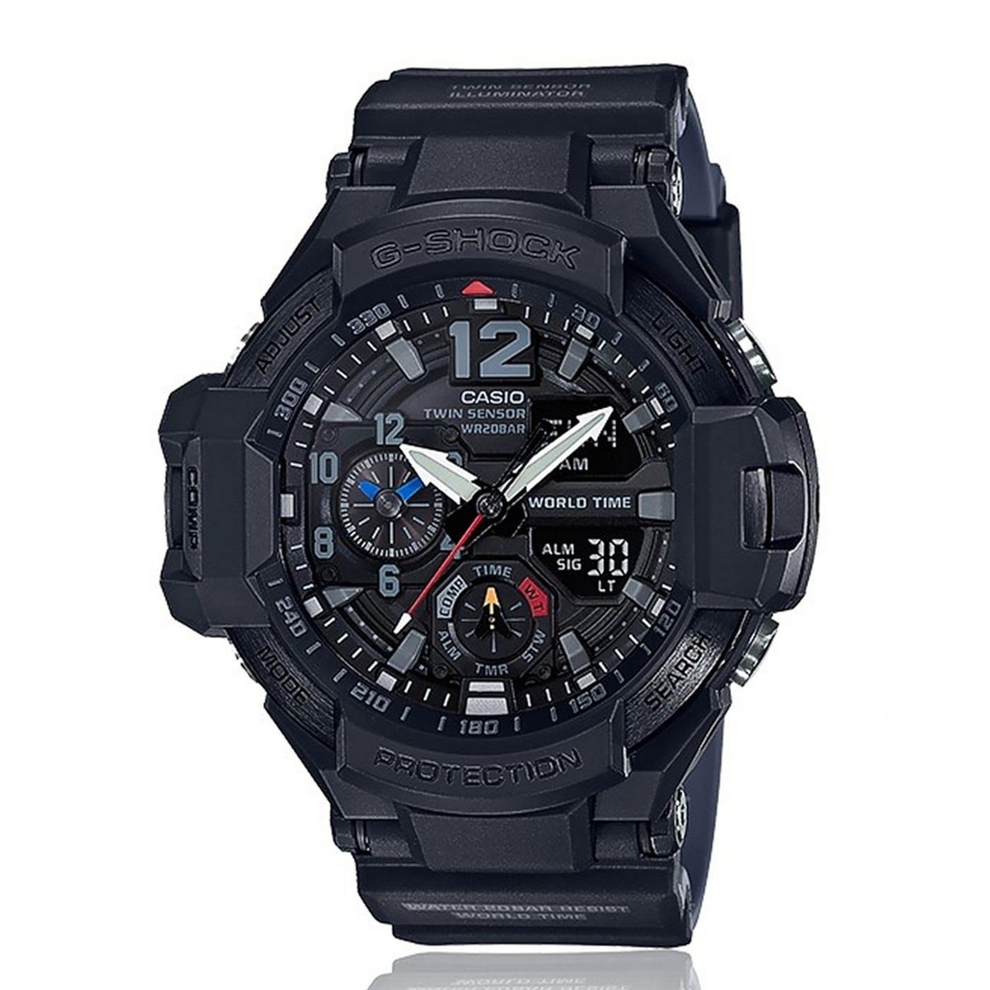 Casio G-Shock GA 1100-1A1ER čierne
