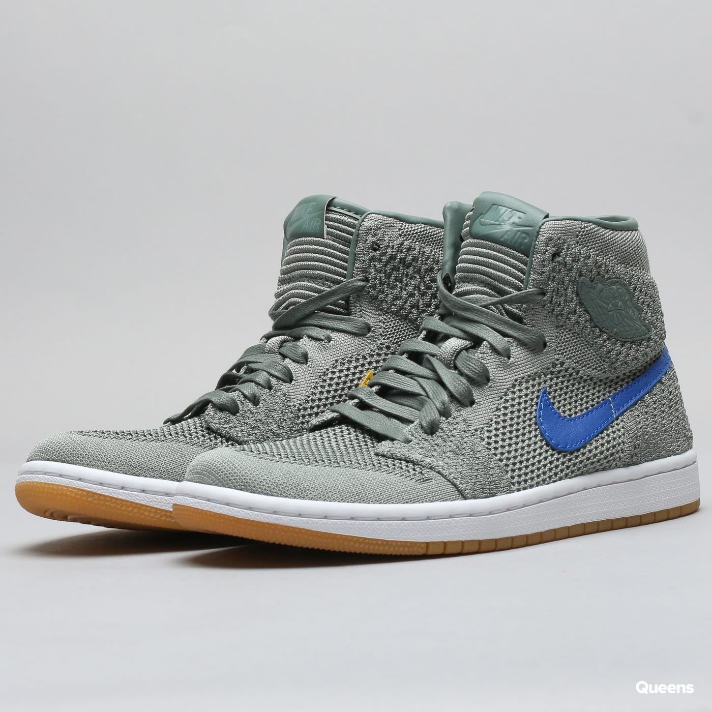 quality design a79a7 a736b Jordan Air Jordan 1 Retro HI Flyknit BG (919702-333)– Queens 💚