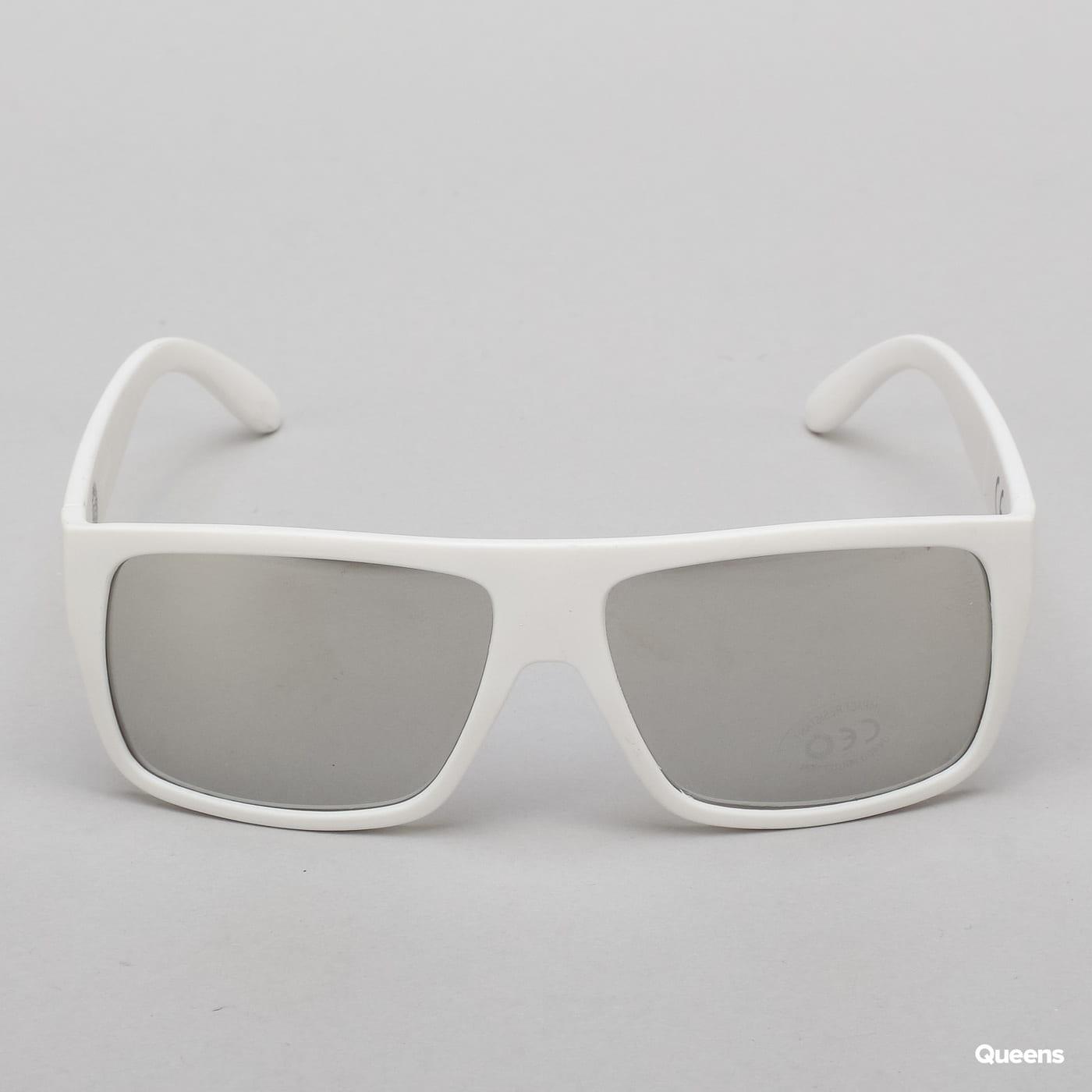 Mass DNM Icon Sunglasses bílé / stříbrné