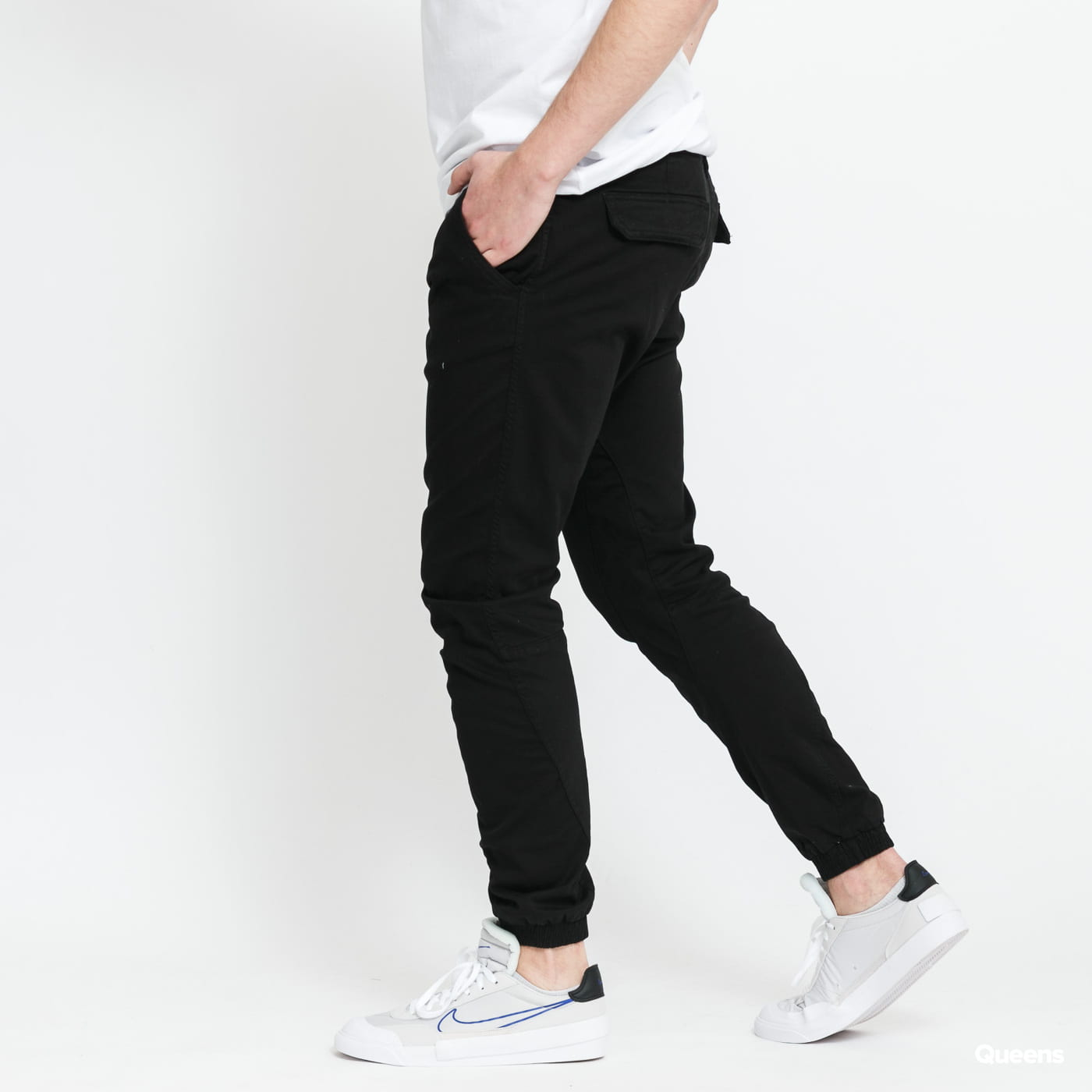 Urban Classics Stretch Jogging Pants čierne