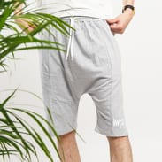 Mass DNM Sigmature Low Crotch Sweatshorts melange šedé