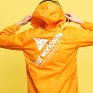 HUF Peak Anorak Jacket oranžová