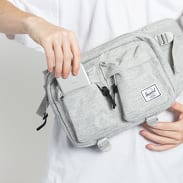 The Herschel Supply CO. Eighteen Hip Pack melange šedá