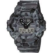 Casio G-Shock GA 700CM-8AER šedé camo