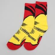 Vans MN Vans X Marvel Socks červené / žluté / černé