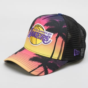 New Era 940 NBA Af Trucker Coastal Heat LA Lakers