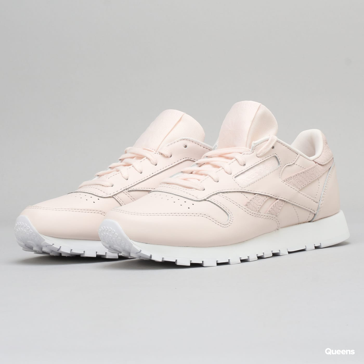 Enemistarse boleto Simular  Reebok Classic Leather PS Pastel pale pink / white (CM9160) – Queens 💚