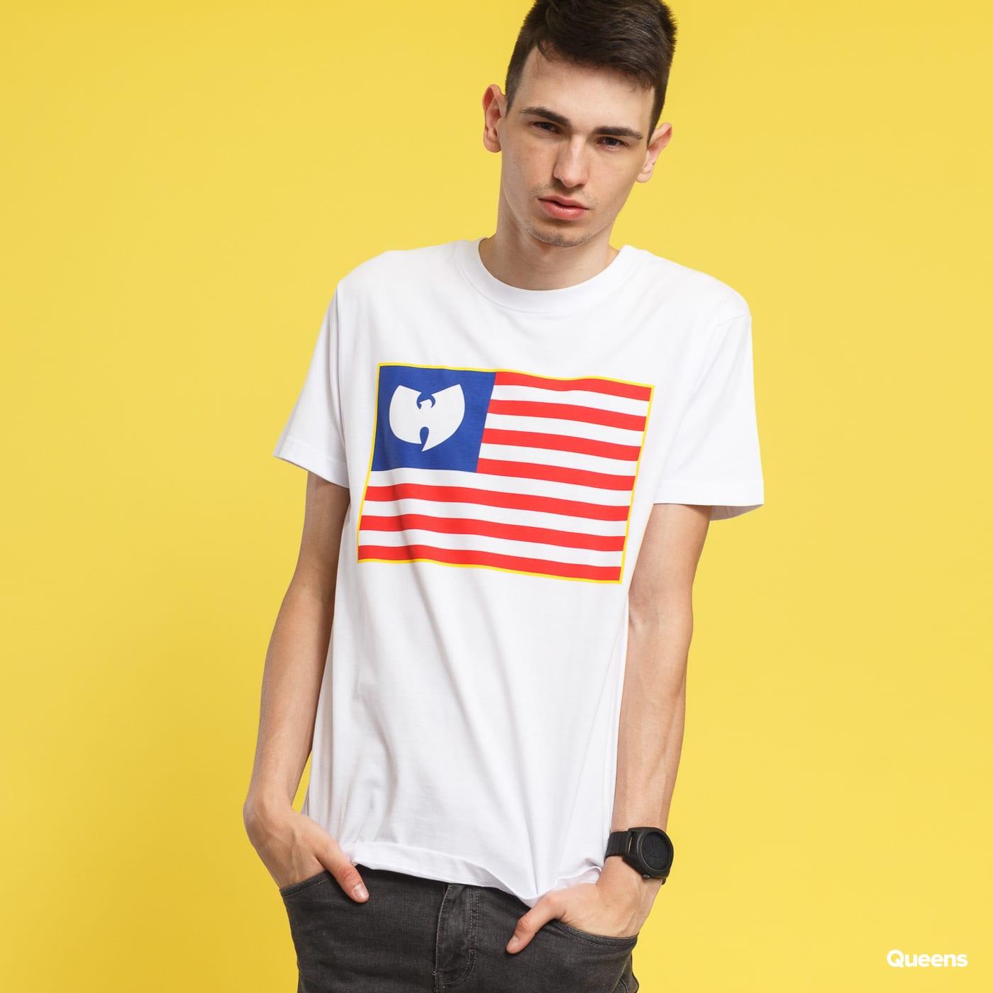 WU WEAR Flag Tee biele