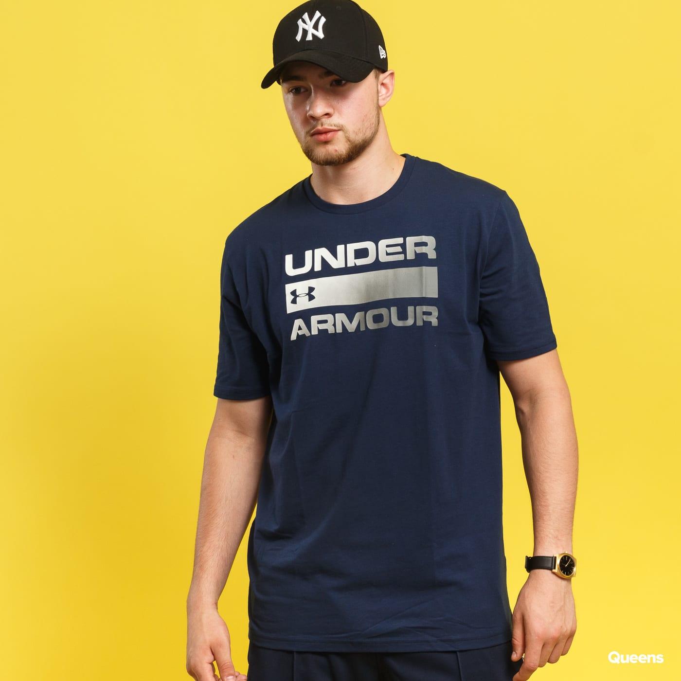 Tričko s krátkým rukávem Under Armour Team Issue Wordmark (1314002-408) –  Queens 💚 b747fc7d5ac