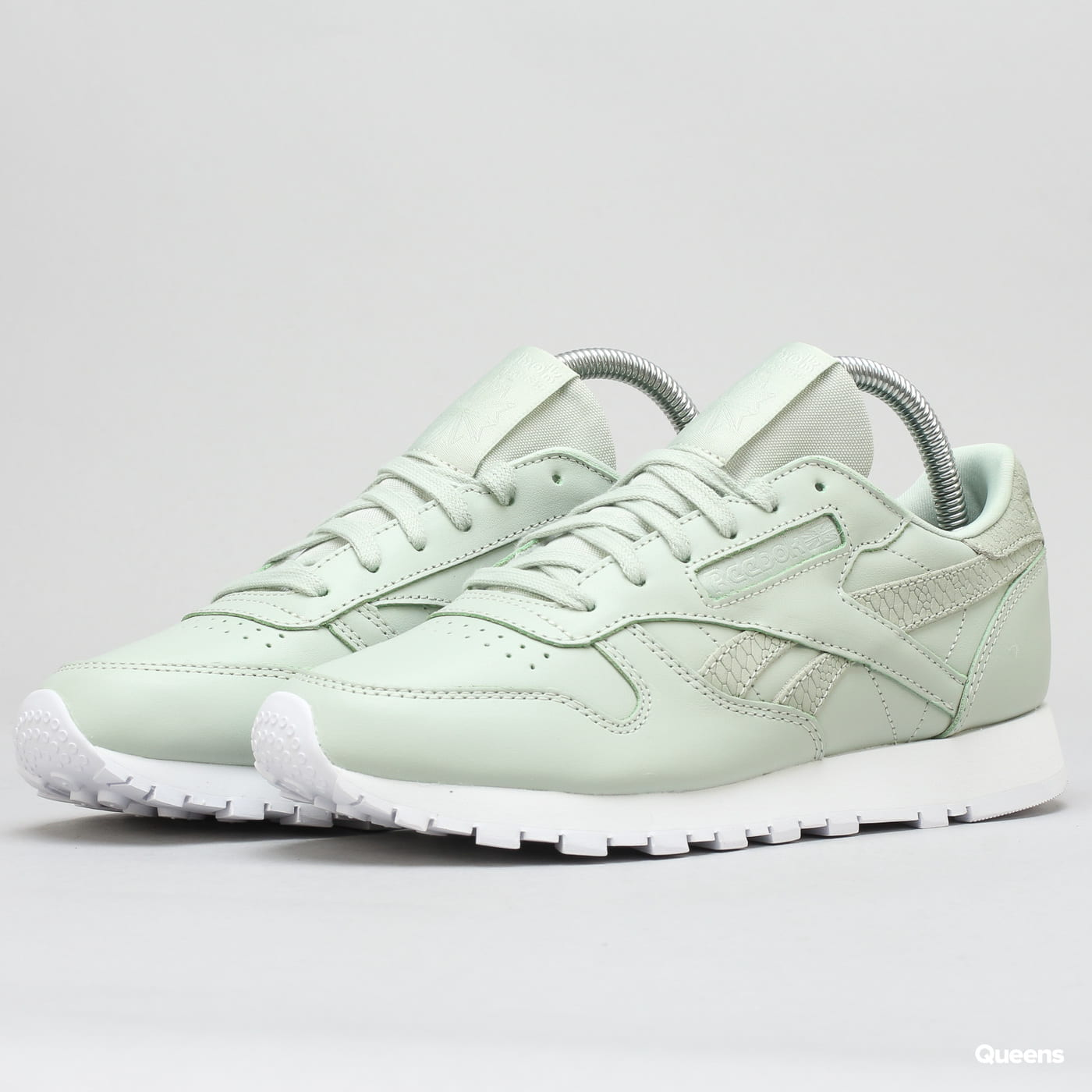 separation shoes 4e03f bcd37 Reebok Classic Leather PS Pastel eucalyptus / white