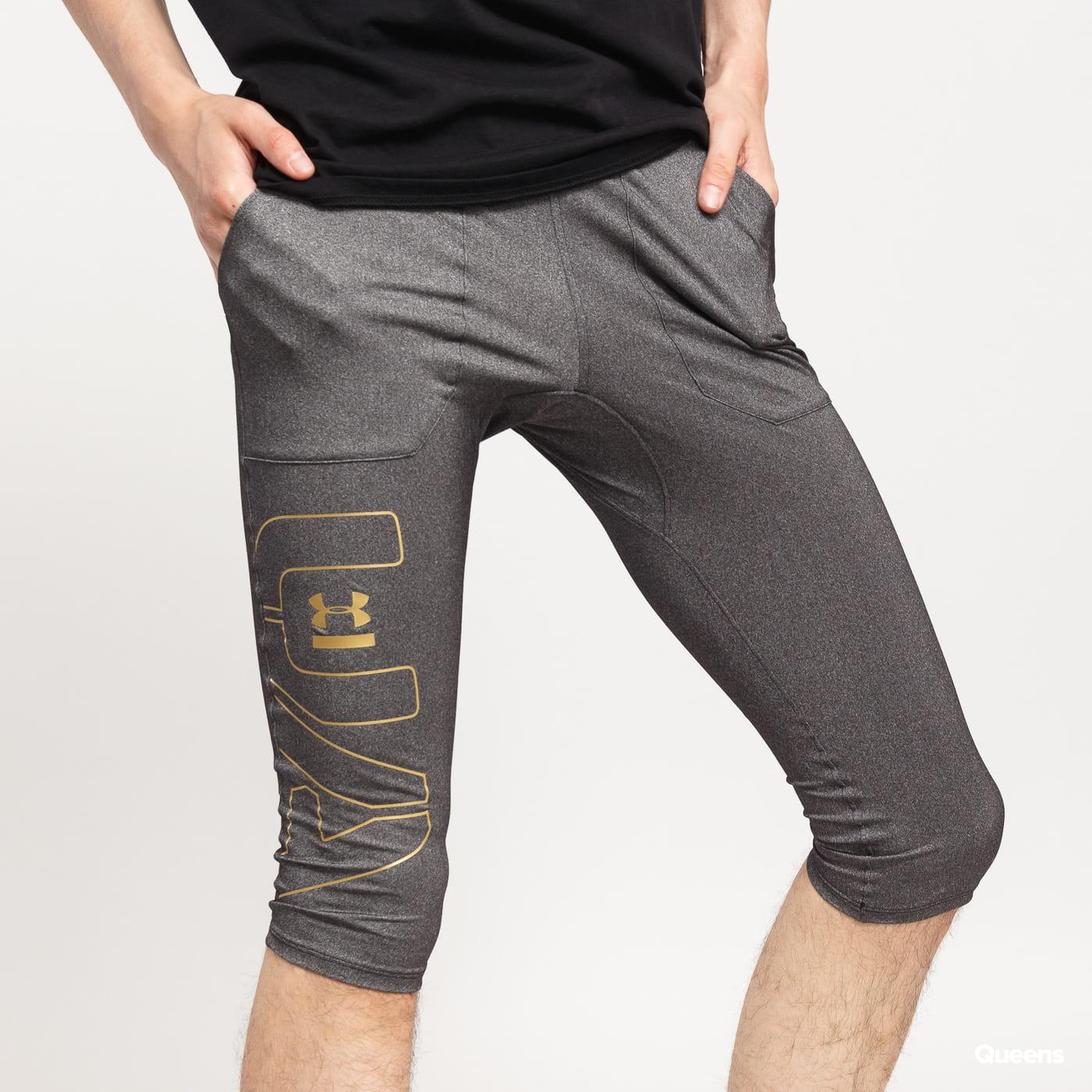 Under Armour Perpetual 1/2 Legging šedé / čierne