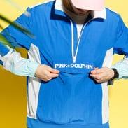 Pink Dolphin Wave Flare Windbreaker V2 modrá / bílá