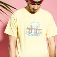 Pink Dolphin Dolphin Hut Tee žluté