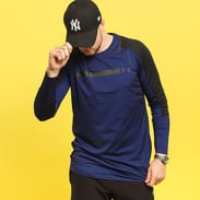 Under Armour Perpetual Fitted LS navy