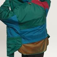 adidas Lite Vintage Jacket zelená / tyrkysová / vínová