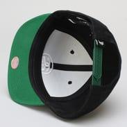 Stüssy Ss-Link Su18 Cap černá / zelená