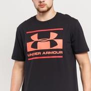 Under Armour Blocked Sportstyle Logo černé / neon růžové