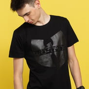 WU WEAR Black Logo T-Shirt schwarz
