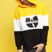 WU WEAR Block Hoody yellow / white / black