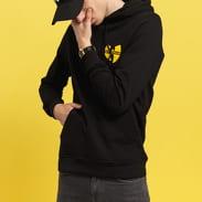 WU WEAR Chest Logo Hoody schwarz