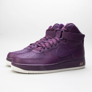 sneakers excellent quality top fashion Nike Air Force 1 High '07 night purple / night purple