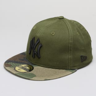 New Era 5950 MLB Washed Camo Fit NY