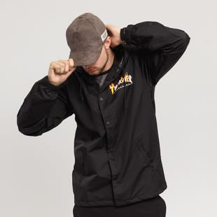 Thrasher Flame Mag Coach Jacket
