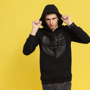 WU WEAR Black Logo Hoody