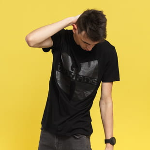 WU WEAR Black Logo T-Shirt