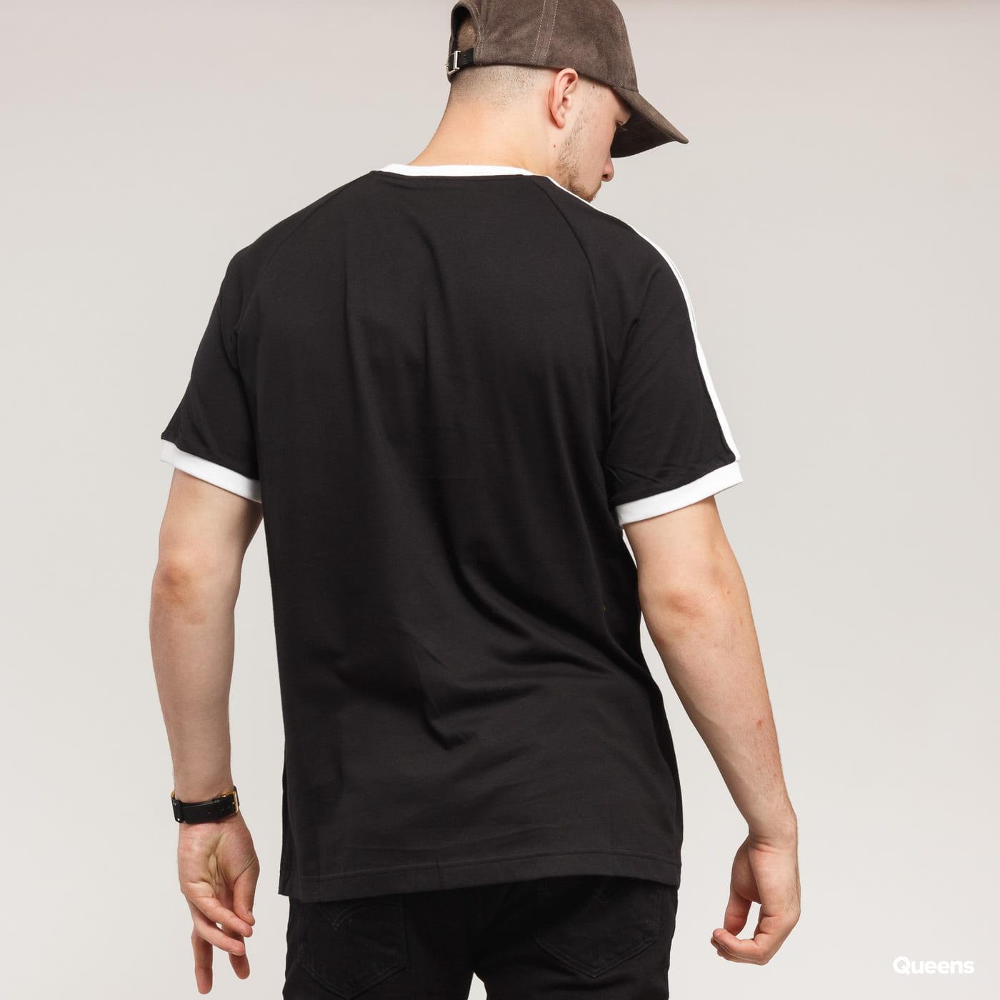 adidas 3-Stripes Tee čierne