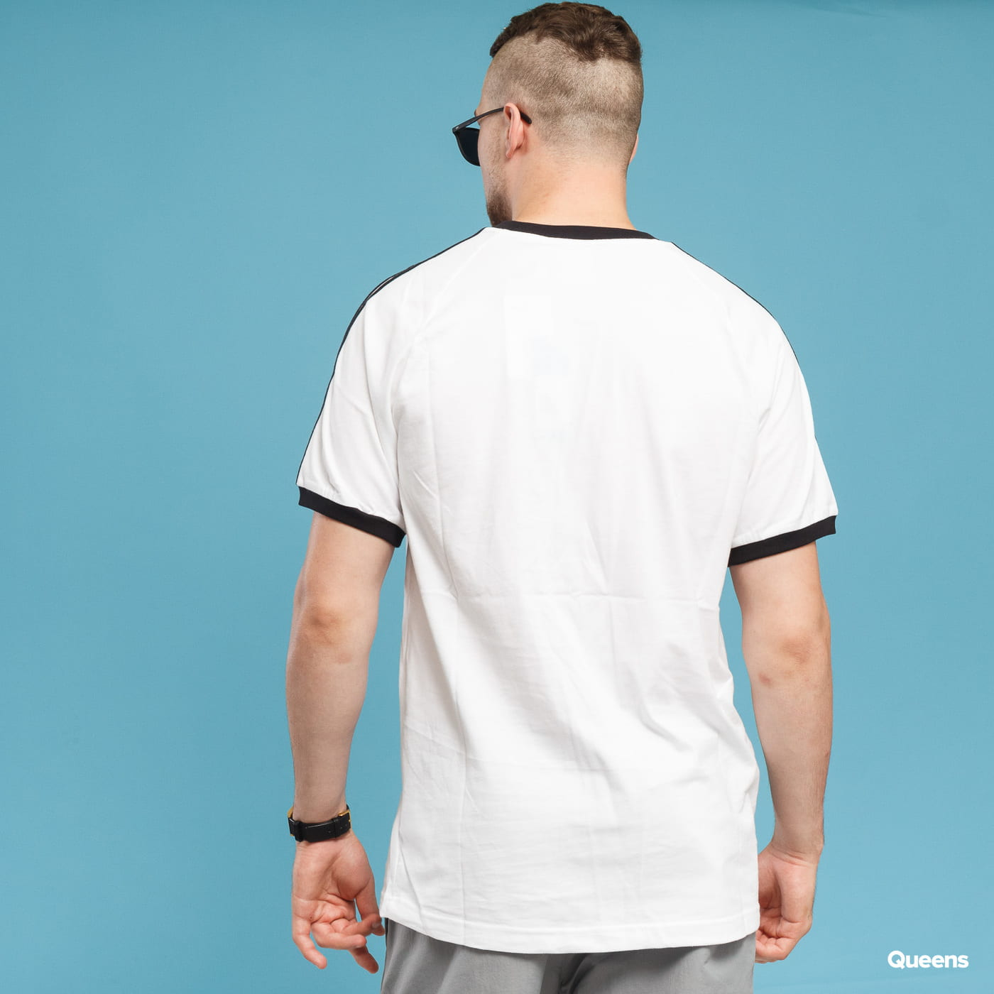 adidas Originals 3-Stripes Tee white